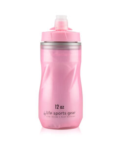 Insulated Water Bottle   12 oz   Pink