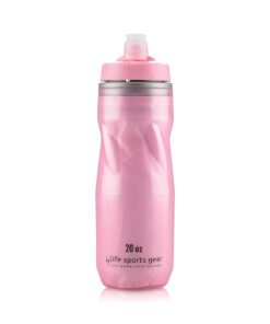 Insulated Water Bottle   20 oz   Pink