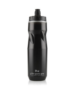 Insulated Water Bottle   24 oz   Black